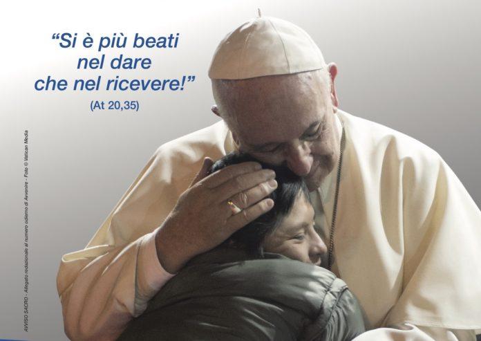 Carita del Papa locandina 2021