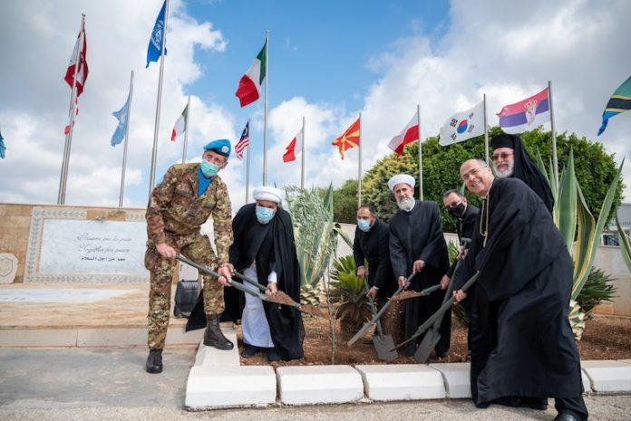 Incontro interreligioso nella sede dei Caschi blu in Libano