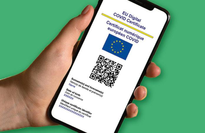 Digital COVID Certificate Green Pass