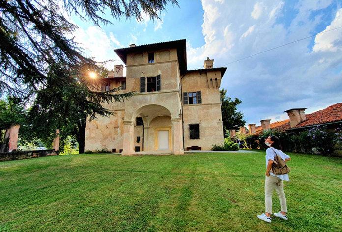 Saluzzo villa Belvedere