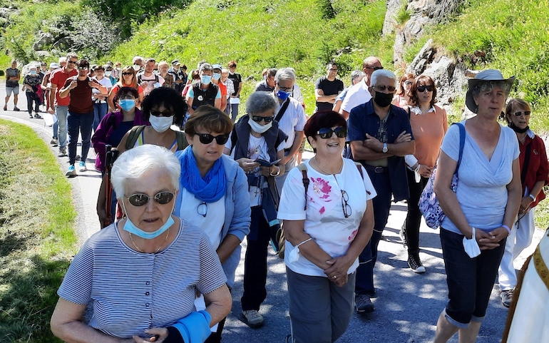 Sant'Anna Vinadio Pellegrinaggio Sinodale2