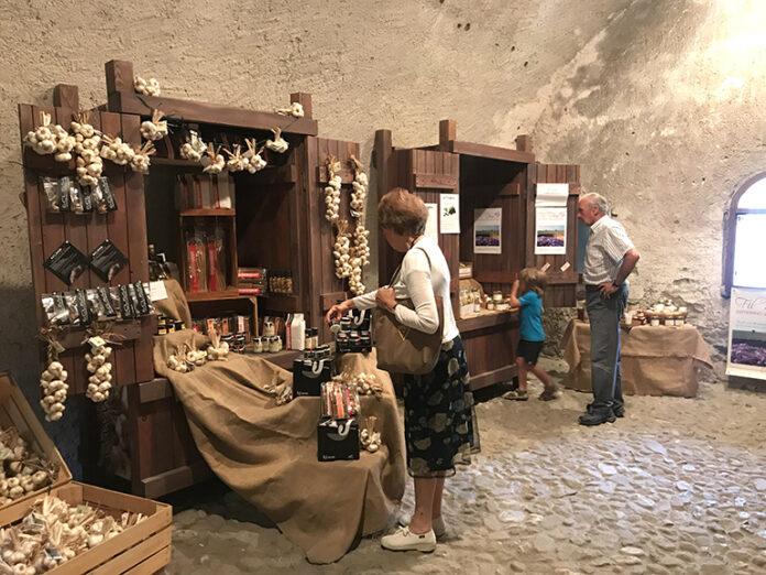 Vinadio Forte Temporary Shop
