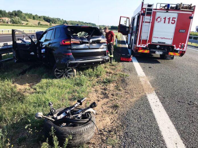 incidente stradale autostrada Torino Savona
