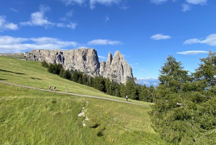 Montagna Alpe Di Siusi Sciliar