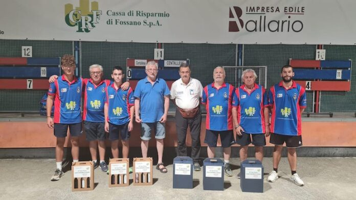 Bocce Centallese Trofeo Crf