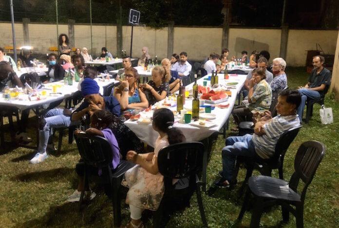 festa Caritas a conclusione corso itaiano per stranieri