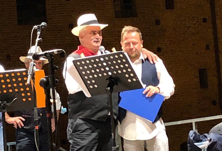 Piero Ballario con Walter Lamberti