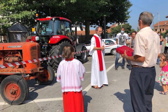 san lorenzo - benedizione mezzi agricoli