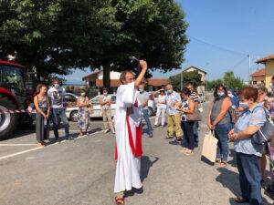 san lorenzo - benedizione