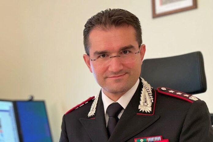 Giuseppe Carubia è il nuovo comandante provinciale dei Carabinieri