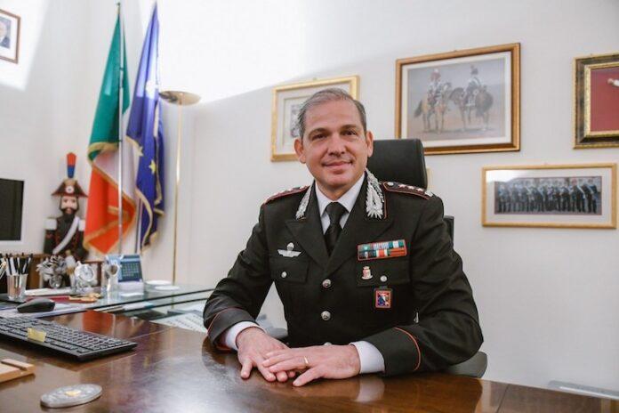 Il comandante provinciale dei Carabinieri lascia l'incarico