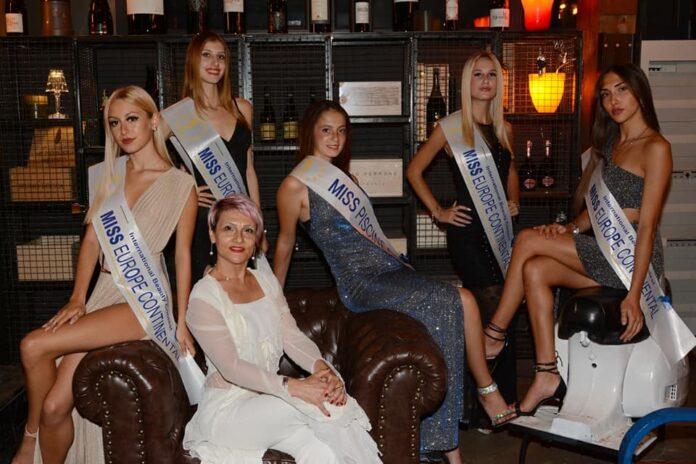 Una delle precedenti edizioni di Miss Europe Continental