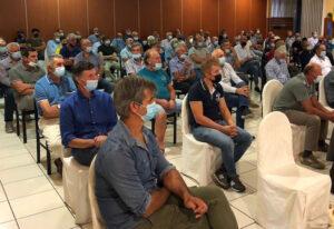 agricoltori in assemblea a cussanio