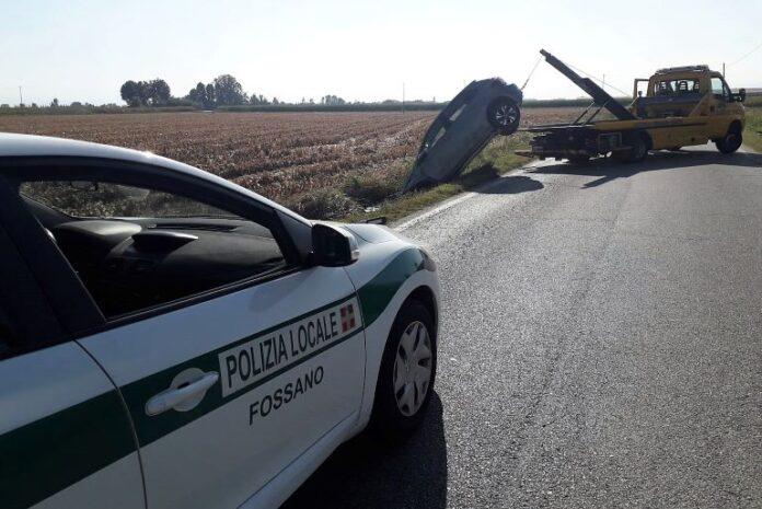 Incidente stradale al Gerbo di Fossano