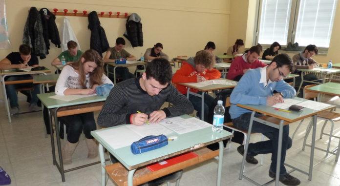 Campionati di Giochi matematici a Fossano.