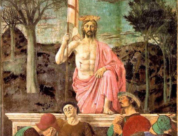 La Resurrezione, Piero della Francesca, Museo Civico di Sansepolcro